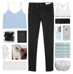 """""""LOVE AIN'T SIMPLE"""" by constellation-s ❤ liked on Polyvore featuring rag & bone/JEAN, Christy, GET LOST, Christian Dior, Calvin Klein Underwear, Carbon & Hyde, FOSSIL, unicorntags and philosoqhytags"""
