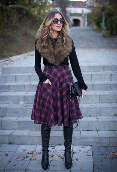 18 Chic Ways To Wear Skirts This Winter