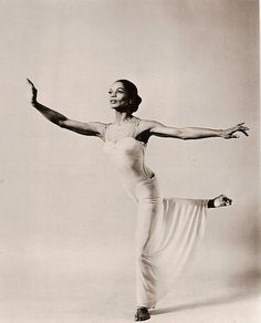 """Mary Hinkson Jackson. """"Mary was one of the first African American dancers to join the Martha Graham Dance company. A few of the many dances performed by her include Dark Meadow, Canticle for Innocent Comedians based on the teachings of St. Francis of Assisi, In Praise of Earth, Seraphic Dialogue about Joan of Arc, Diversion of Angels, Cave of the Heart, based on the life of Madea, Deaths and Entrances, based on the life of the Bronte sisters, and Lady in White."""""""