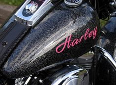 sparkly Harley-Davidson - cool !!!!