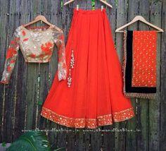 Bridal Lehenga Half Saree Online