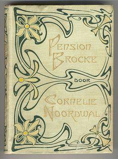 Pension Brocke door Cornelie Noordwal, cover by Willem Pothast for Cohen en Zonen, 1900
