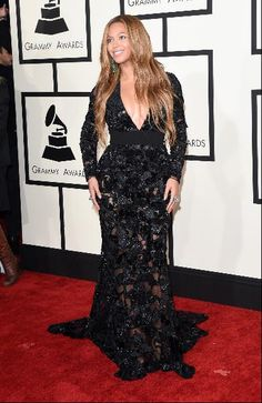 Singer Beyonce attends The 57th Annual GRAMMY Awards at the STAPLES Center on February 8, 2015 in Los Angeles, California.