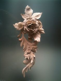Rosa from Wood Hand Carved – Architectural Wood Carving Wood Carving Designs, Wood Carving Art, Wood Sculpture, Sculptures, Easy Wood Projects, Wooden Art, Custom Wood, Clay Art, Woodworking Projects