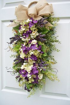 A nice wreath alternative Timeless Floral Creations