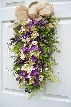 A nice wreath alternative Timeless Floral Creations