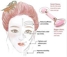 Double Head Jade Stone Facial Massage Roller – Farry Fashion Beauty Care, Beauty Skin, Health And Beauty, Face Gym, Yoga Facial, Facial Oil, Face Roller, Face Massage, Gua Sha Massage