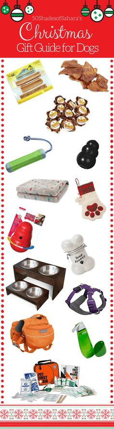 Need help shopping for the dog in your life? Look no further! Here's a guide to help you find perfect dog gifts for any dog! #giftsfordogs #christmasgiftsfordogs #doggifts