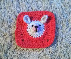 Pienipupuneliö, ohje Granny Squares, Crochet Projects, Projects To Try, Bunny, Crochet Hats, Blog, Rabbit, Knitting Hats, Cute Bunny