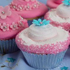 Recept: Cotton candy cupcakes - Cupcakes - Recepten   Deleukstetaartenshop.nl