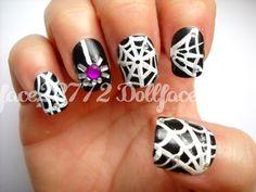 Itsy Bitsy spider nails