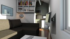This tiny house is built by robots, can be shipped flat, and is uber green.
