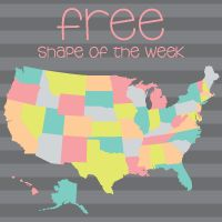 Free shape this week for the silhouette