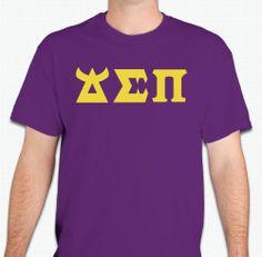 Monster's University style letters!  (http://www.monkeyswork.com/t-shirts/delta-sigma-pi/monster-style-greek-letters-delta-sigma-pi/)