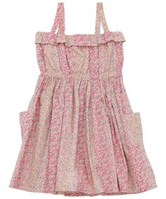 Age 2 to 8 Pink Douglas Print Sundress, Liberty London Children's. Shop more dresses from the latest Liberty London Children's collection online at Liberty.co.uk