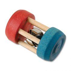 Bell Heirloom Rattle - Natural wood toy from <em>Maple Landmark, Inc.</em>