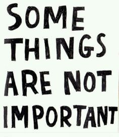 So not Important