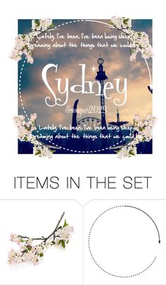 """""""Icon - Sydney"""" by jaydewagner ❤ liked on Polyvore featuring art"""