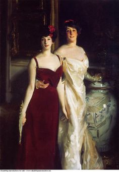 John Singer Sargent » Ena and betty daughters of asher and mrs wertheimer