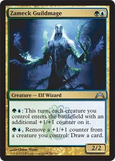 Magic: the Gathering - Zameck Guildmage (209) - Gatecrash by Wizards of the Coast. $0.38. A single individual card from the Magic: the Gathering (MTG) trading and collectible card game (TCG/CCG).. This is of Uncommon rarity.. From the Gatecrash set.. Magic: the Gathering is a collectible card game created by Richard Garfield. In Magic, you play the role of a planeswalker who fights other planeswalkers for glory, knowledge, and conquest. Your deck of cards represents al...