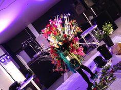Miku with flower arrangement