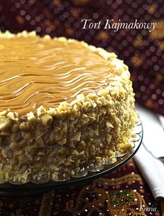 tort kajmakowy Awesome Cakes, Eastern Europe, Chocolates, Candy, Cookies, Baking, Recipes, Food, Puddings