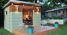 """""""Introducing """"Shedquarters"""": The Hot New Trend Home-Based Business Owners Are Drooling Over"""" - lightersideofrealestate.com"""