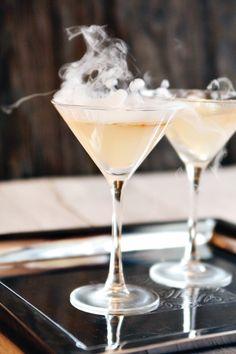 fun smoking cocktail