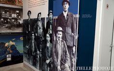 Omaggio ai minatori nella sala dedicata all'emigrazione storica