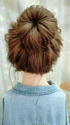 Oscar Hairstyles, Bun Hairstyles For Long Hair, Trendy Hairstyles, Anime Hairstyles, Hairstyles Videos, Office Hairstyles, School Hairstyles, Hair Updo, Natural Hairstyles