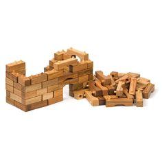 Nova Naturals Interlocking Wooden Blocks $49