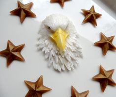 EAGLE SOAP, American Bald Eagle with Stars, For Dad, July 4th Soap, For Him, Patriotic Soap, Military Soap, Star Soap - Custom Scented by thecharmingfrog on Etsy