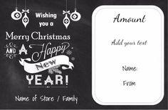 Printable Christmas Gift Certificates Templates Free Free Printable Christmas Gift Certificate Templatecan Be .