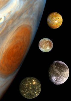 the jewels of Jupiter