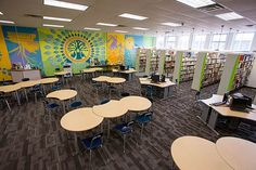 Eastern Christian High School - DEMCO Library Interiors