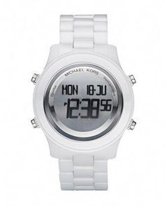 b31dc426f7f Digital Ceramic Watch by Michael Kors..have had my eye on this one for