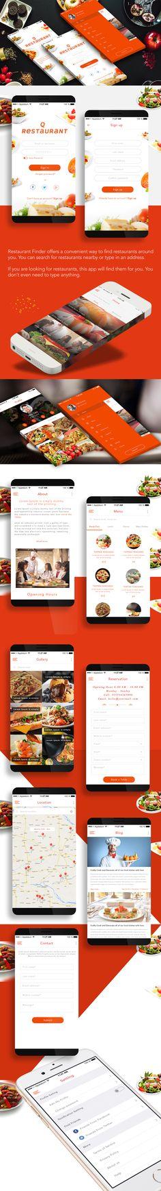 Q - Restaurant App on Behance