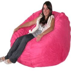 Cozy Sack 4-Feet Bean Bag Chair, Large, Hot Pink Cozy Sack http://www.amazon.com/dp/B001667QOU/ref=cm_sw_r_pi_dp_jXfQtb0DF1MA09AS