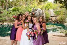 Paradise Falls Oceanside wedding photos by Brandon Yuong (Temecula wedding photographer)