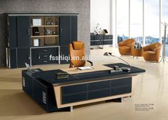Contemporary Office Furniture Wooden Office Desk Set Modern General - Small square office table