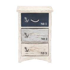 Wood nautical chest dimensions: 19 inches (W) x 12 inches (D) x 30 inches (H).Nautical chest color: Distressed white, Black.Made from: Wood.Is there stuff lying around your bedroom? Do you have many s