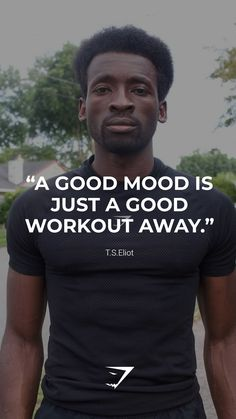 """""""A good mood is just a good workout away.""""- Gymshark. Save this to your motivational board for a reminder! #Gymshark #Quotes #Motivational #Inspiration #Motivate #Phrases #Inspire #Fitness #FitnessQuotes #MotivationalQuotes #Positivity #Routine #HealthyMindset #Productive #Dreams #Planning #LifeGoals Motivational Board, Inspirational Quotes, Sport Inspiration, Good Mood, Life Goals, Fitness Goals, Fun Workouts, Motivationalquotes, Routine"""