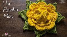 Flor de Crochê nº 2 - Tutorial Completo - Parte Única - YouTube