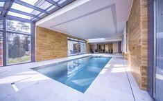 vnitřní bazén, skimmerový bazén, nerezový bazén, Imaginox, design, architektura, dům, moderní bydlení Modern Design, Home, Ideas, Contemporary Design, Ad Home, Homes, Thoughts, Haus, Houses
