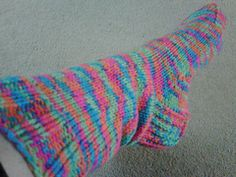 """""""You could stop traffic with these socks..."""" pattern by Raquel Gaskell"""