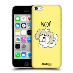 e_cell+-+Head+Case+Shih+Tzu+Puppy+Hard+Back+Case+for+Apple+iPhone+5c