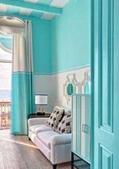 Gray & tiffany blue living room   Tiffany blue\'s, Sea Foam, Teal\'s ...