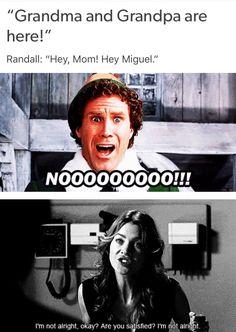 Amanda and I basically had the same reactions