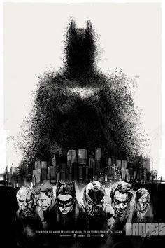 Trilogía de Batman de Nolan by Mondo