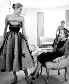 Grace Kelly and her mother, Margaret Majer Kelly. c.1950s